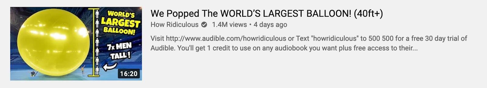 How Ridiculous thumbnail