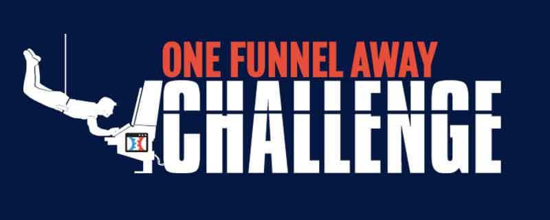 The One Funnel Away Challenge logo