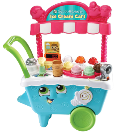 7. LeapFrog Scoop and Learn Ice Cream Cart