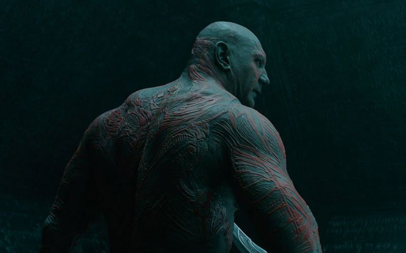 Obese Marvel Characters - Drax The Destroyer