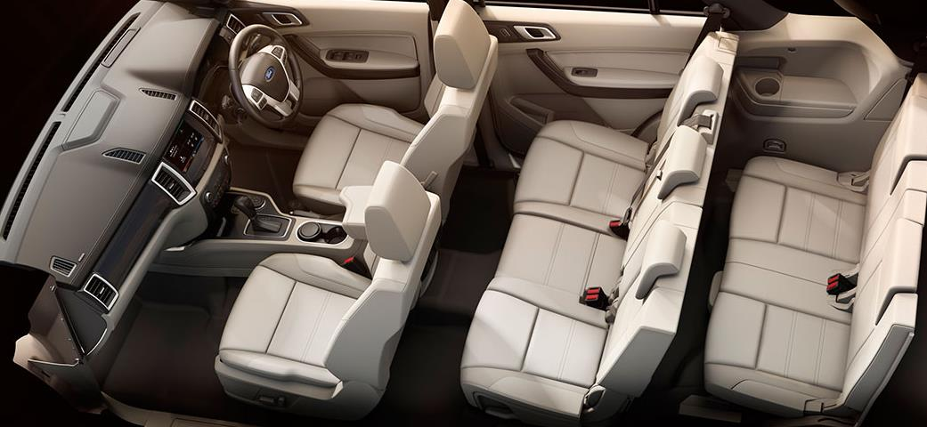 Ford Endeavour interior image