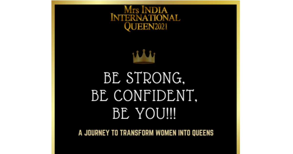 Be the Best MRS India and create your own path