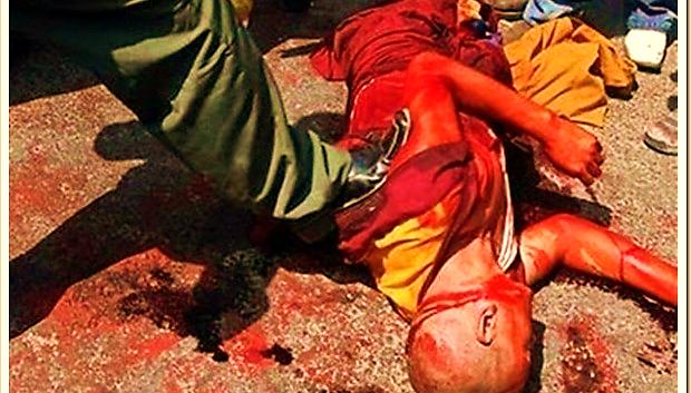 Image result for hình về kháng chiến của người tây tạng