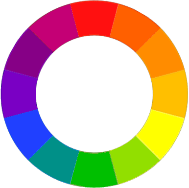 the-image-depicts-the-color-wheel-containing-different-shades-of-color