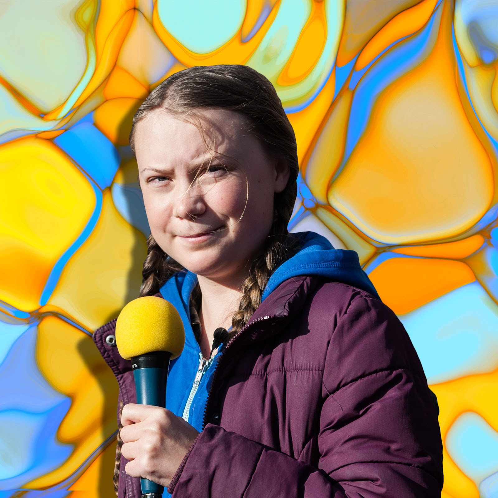 Billedresultat for greta thunberg superstar cartoon