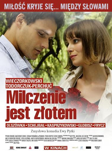 Polski plakat filmu 'Milczenie Jest Złotem'
