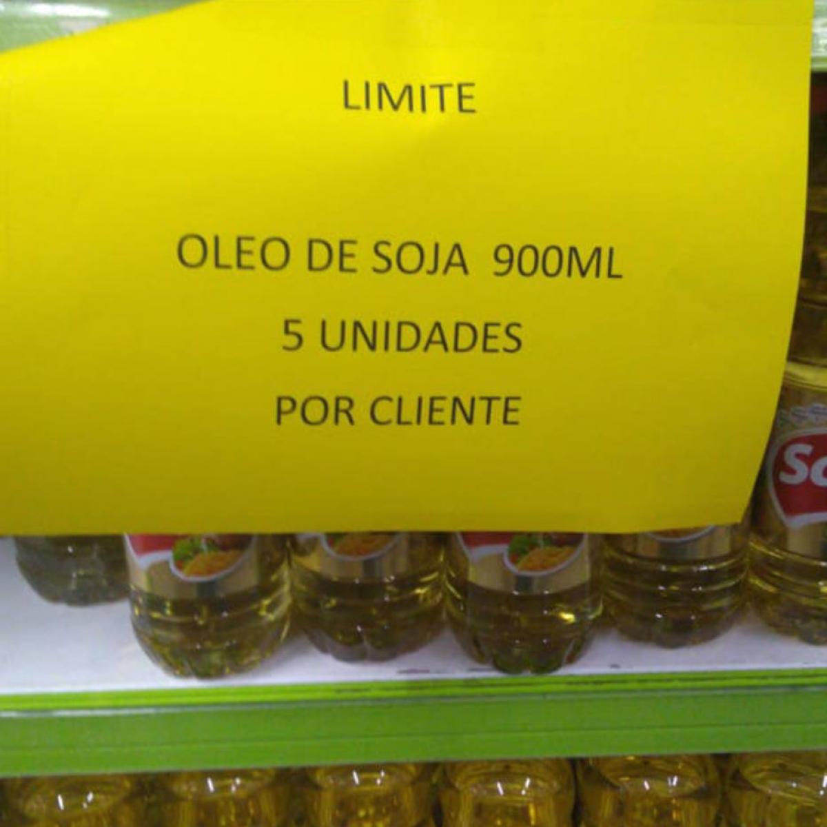 Nos supermercados, consumidor sentiu reflexos dessa movimentação no preço do óleo de soja (Fonte: Estadão/Reprodução)