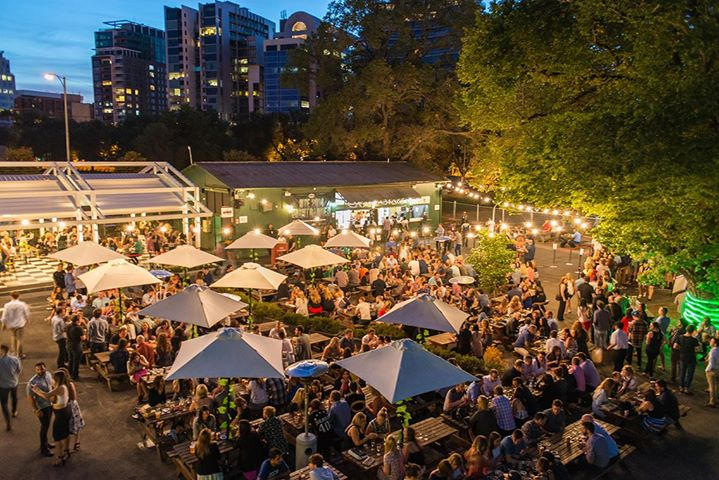 New Year's Eve Night Garden Party in Melbourne
