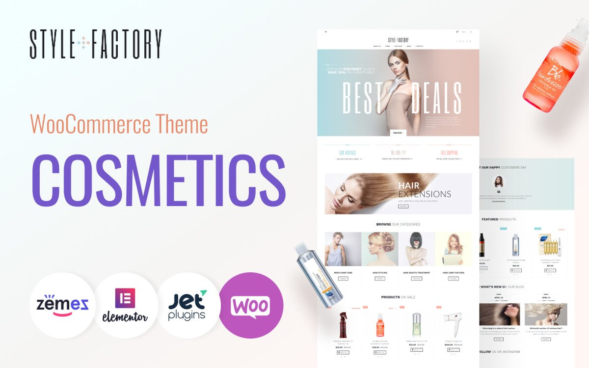 Fastest WooCommerce themes - Style Factory