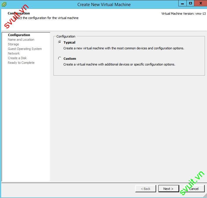 Install CentOS 7 Minimal on VMware vSphere 6.5(3)