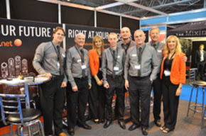 The Spoton.net team at The National Franchise Exhibiton