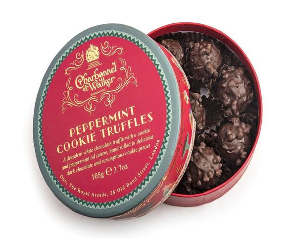 Charbonnel et Walker cookie truffles
