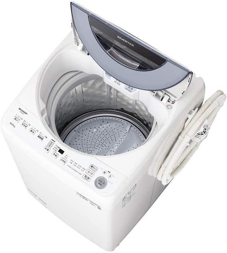 シャープ(SHARP) 縦型洗濯機ESGV8ES