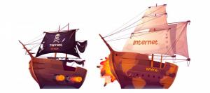 online piracy video watermarking