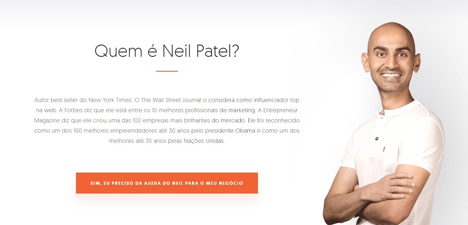 Apresentação Blog Neil Patel
