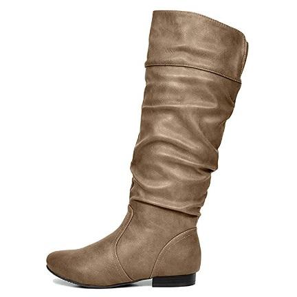 DREAM PAIRS Women's Wide Calf Knee High Boots