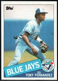 Toronto Blue Jays Franchise Greats  Tony Fernandez
