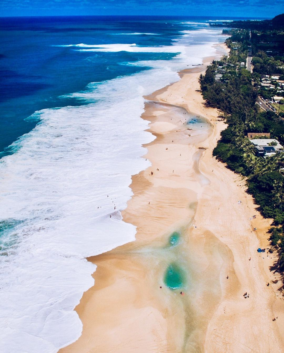 The North Shore's beautiful Sunset Beach Park - 15 Best Beaches on Oahu