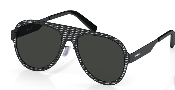 A pair of black sunglasses  Description automatically generated with low confidence