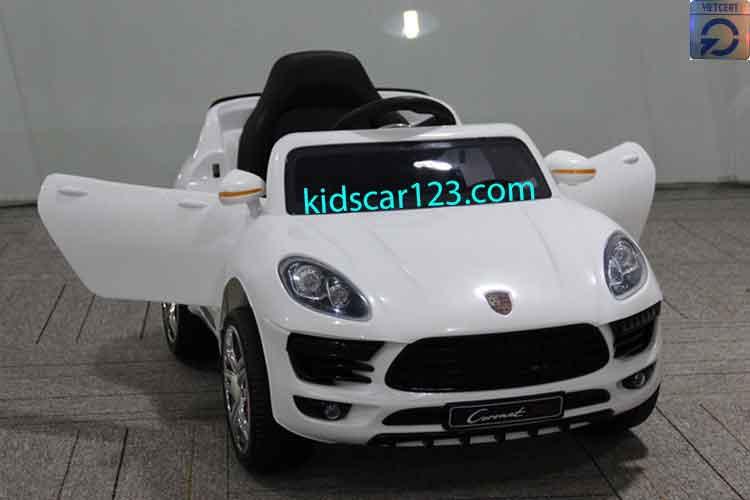Ô tô điện trẻ em HL1518 màu trắng
