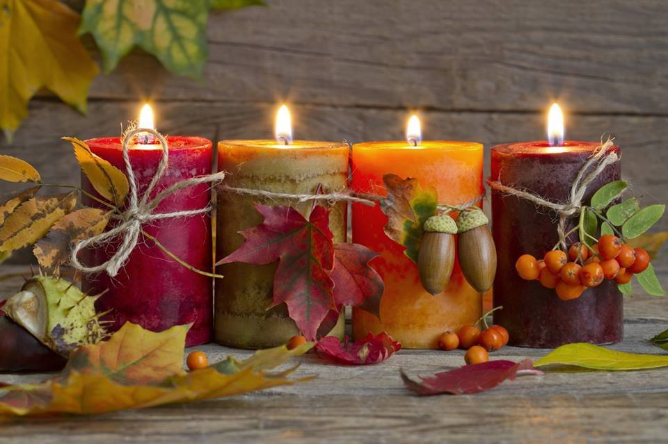 Зробити оселю затишною можна за допомогою запашних свічок