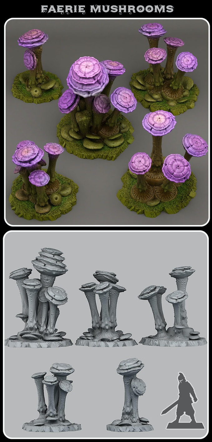 Faerie mushrooms