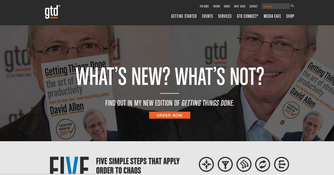 "A screenshot showing an impactful headline titled ""What's new?"""