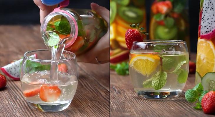 Nước trái cây Detox