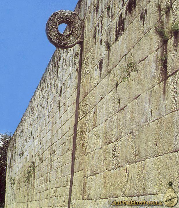 Juego de pelota de Chichén Itzá | artehistoria.com