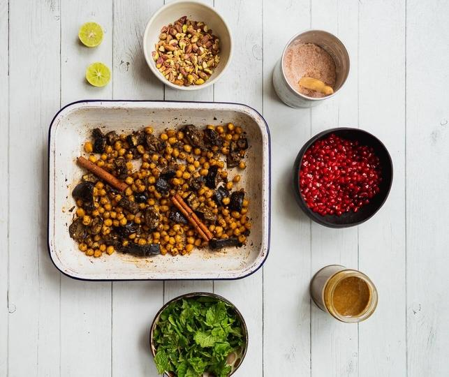 Chickpea One Traybake Recipe