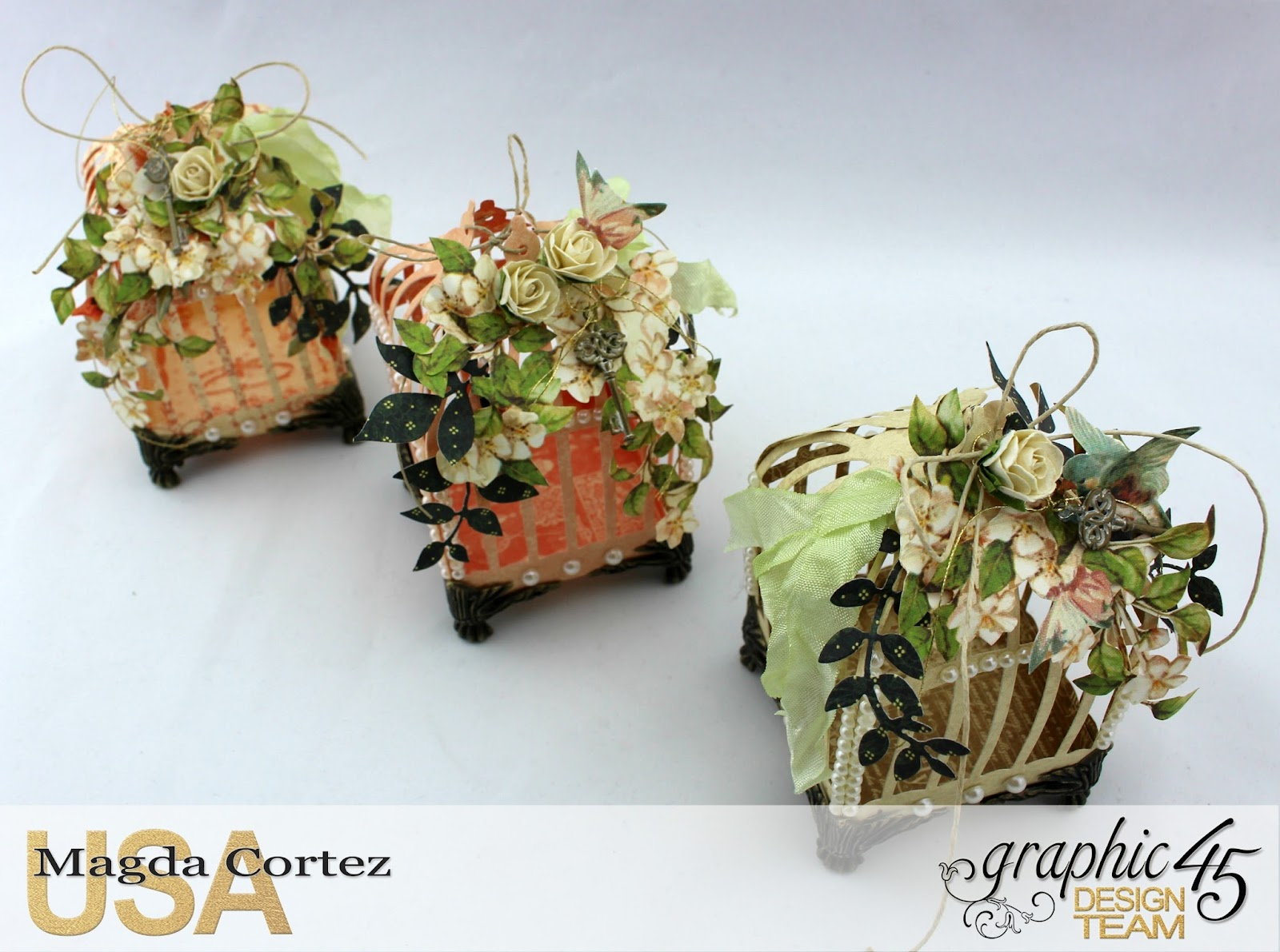 3D Birdcages Simply 45-Wedding Favor- Secret Garden By Magda Cortez, Product By G45, Photo 06 of 06, Project with Tutorial.jpg