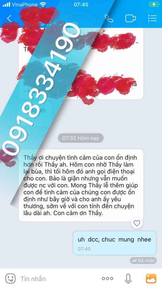 Để thỉnh bùa yêu Bắc Giang bạn chỉ cần liên hệ với thầy theo cách sau:
