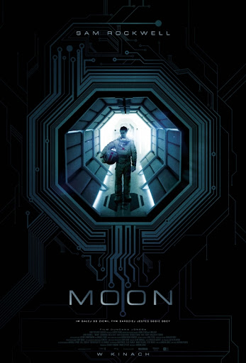 Polski plakat filmu 'Moon'