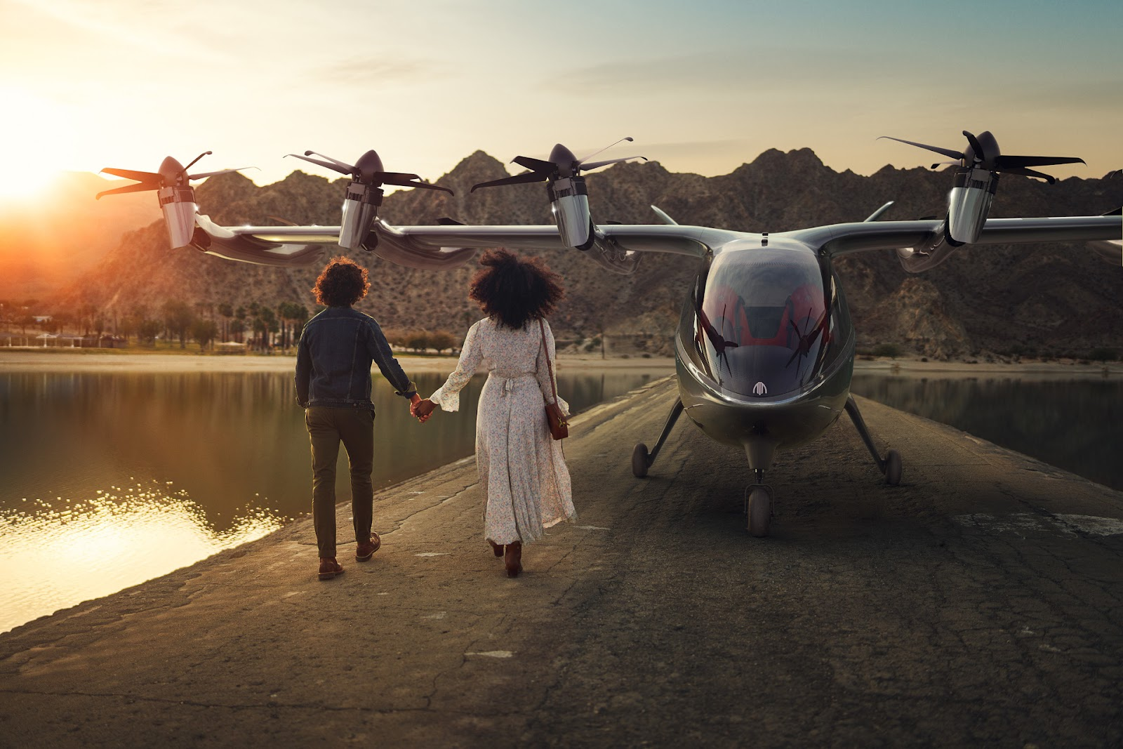 Archer espera lançar serviço de mobilidade urbana aérea em Los Angeles e Miami a partir de 2024. (Fonte: Archer/Divulgação)