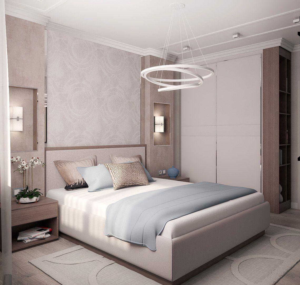 Trang trí phòng ngủ với hoa và đèn treo
