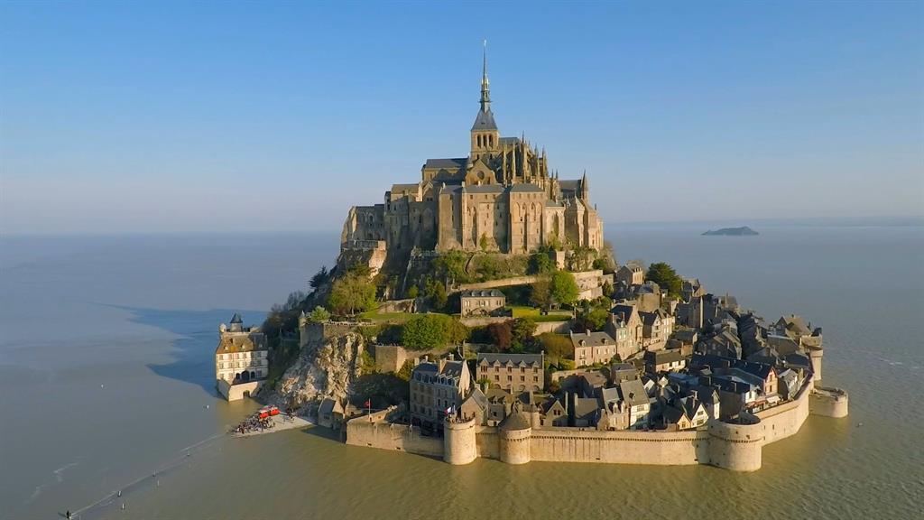 Image result for Mont Saint Michel images