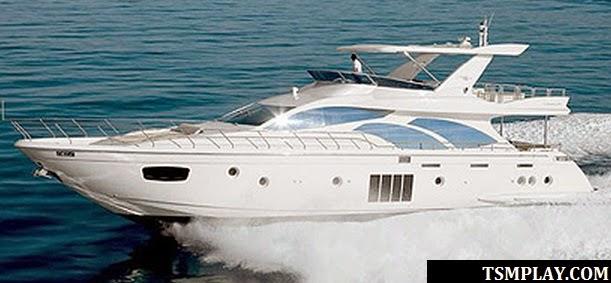yacht of the neymar jr