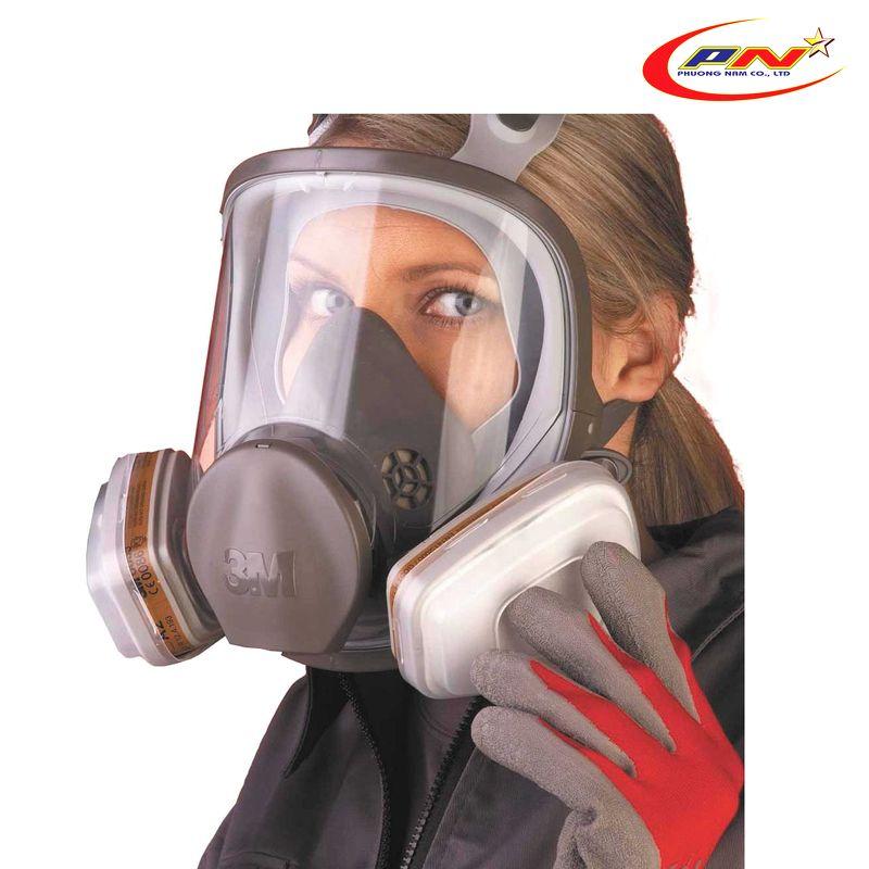 Hướng dẫn sử dụng mặt nạ chống độc 3m đúng cách