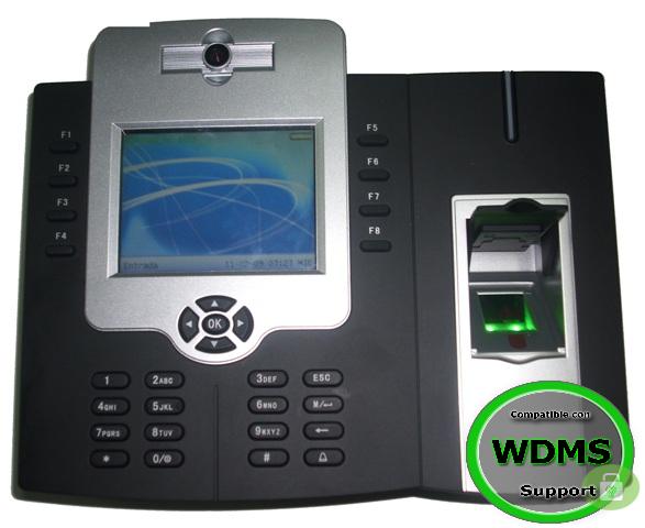 ZK ICLOCK880 - CONTROL DE ACCESO PROFESIONAL MEJORADO / CAMARA / AHORA 50000 HUELLAS / 800000 REG / TCPIP / USB