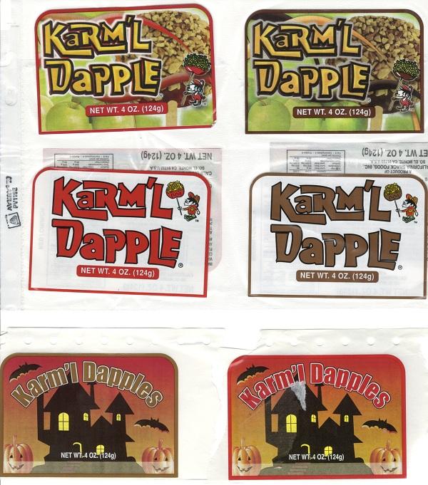 Apple Labels Front, 4 oz.