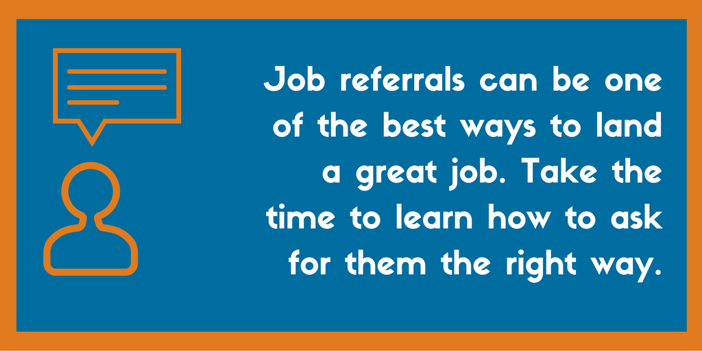 How to ask for a job referral on LinkedIn or Email