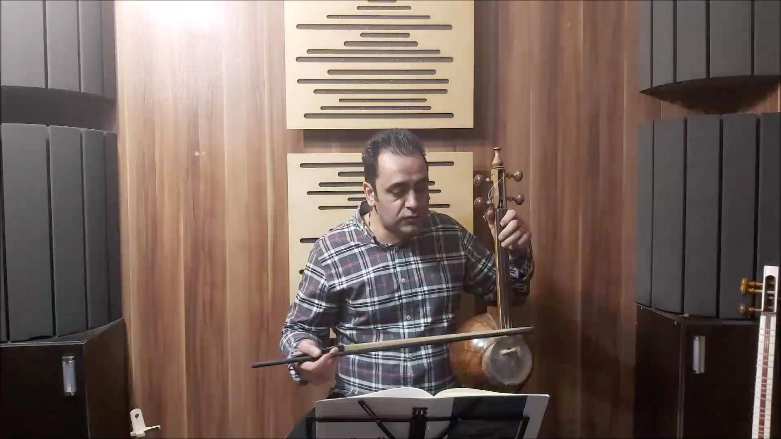 دانلود اجرای تمرین 59 – 3 کتاب اول هنرستان روح الله خالقی ایمان ملکی کمانچه