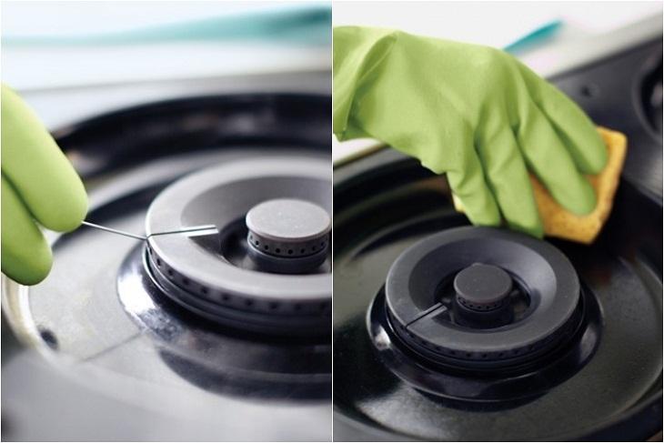 Bạn đã vệ sinh bếp gas đúng cách?