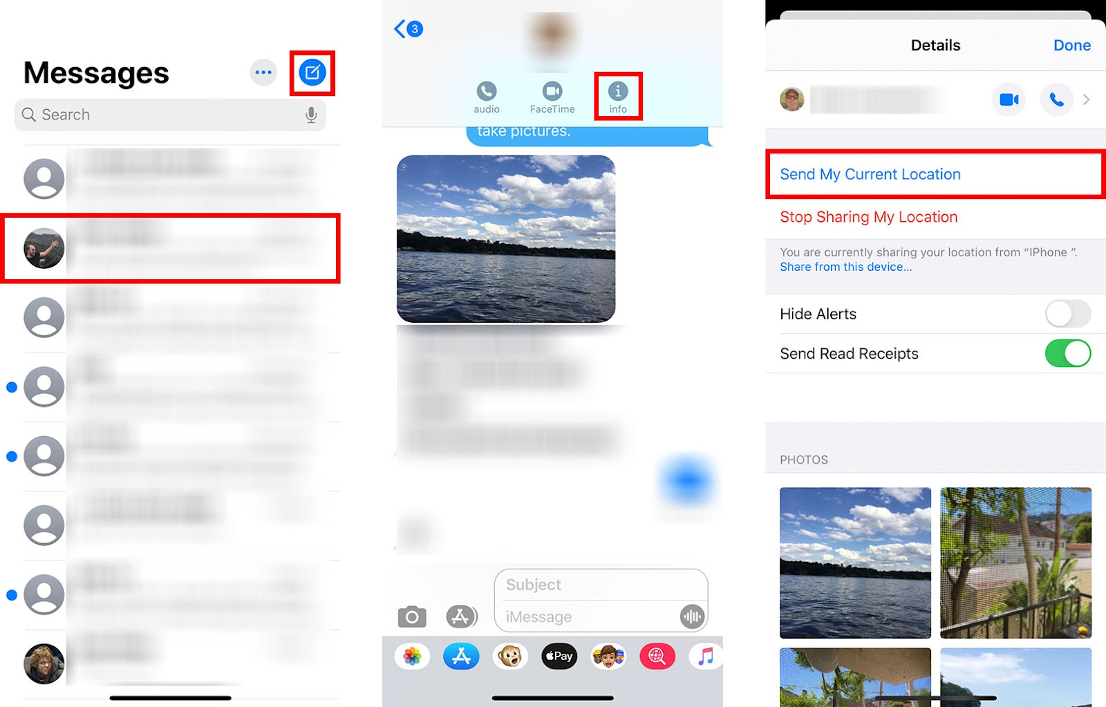 How to Share Your Location on iPhone via Messages