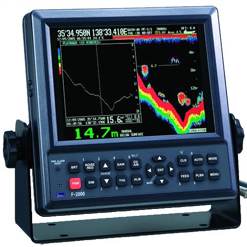 Máy đo sâu JMC F-2000 do VTS cung cấp
