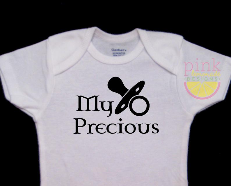 nerdy baby onesies: lord of the rings edition!