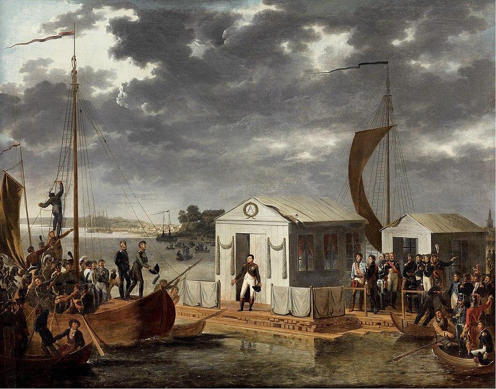 Traktati i Tilsitit 1807.JPG