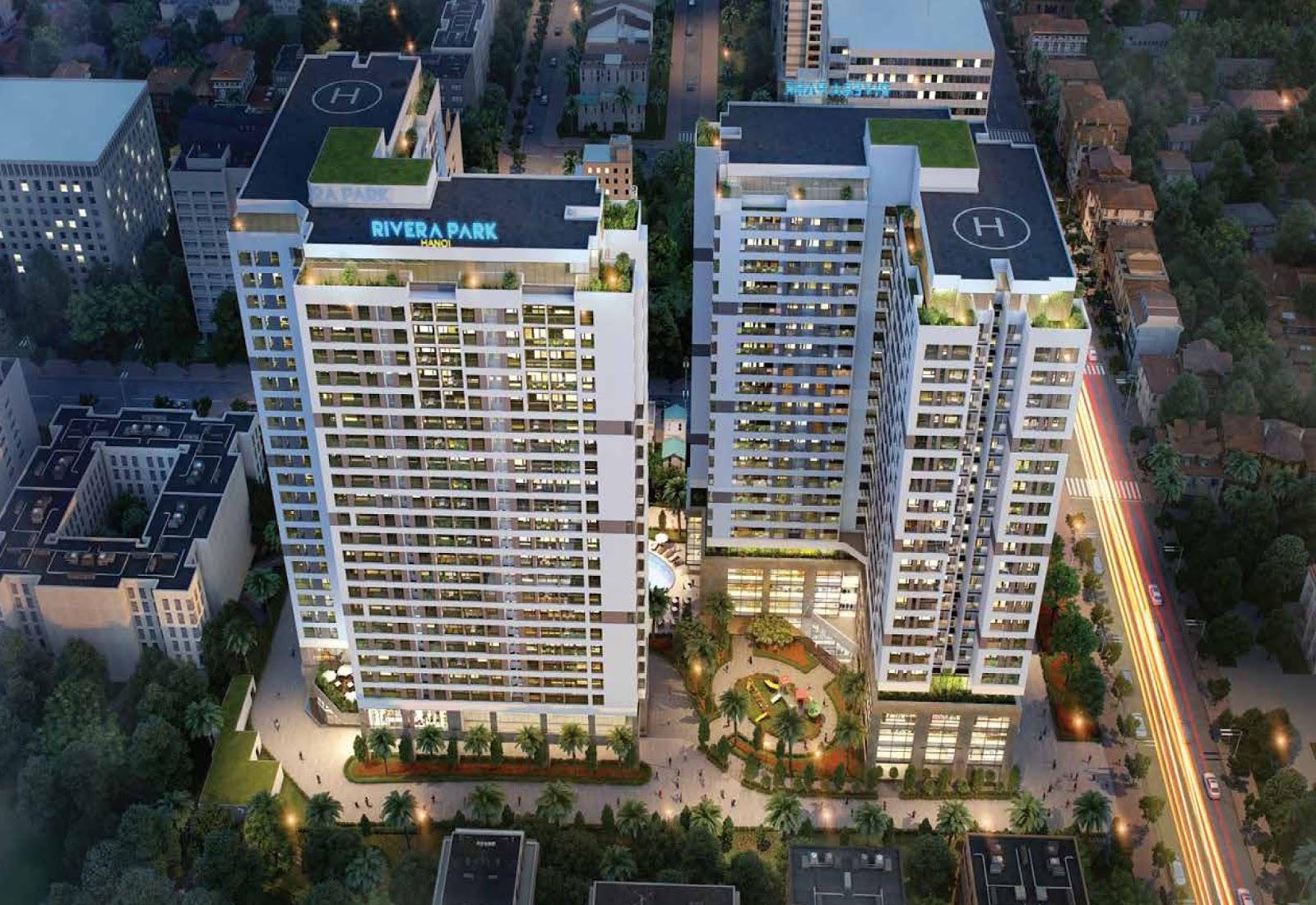 Chung cư River Park 69 Vũ Trọng phụng và những dự án chung cư nổi bật