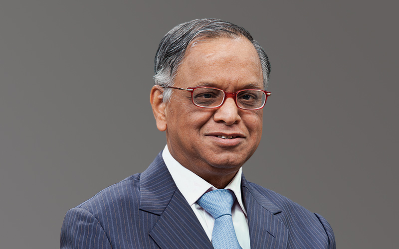 Narayana Murthy Nagavara Ramarao Narayana Murthy (born 20 August 1946) is an Indian billionaire businessman. He is the co-founder of Infosys and has been the chairman, chief executive officer (CEO), president, and chief mentor of the company before retiring and taking the title chairman emeritus.