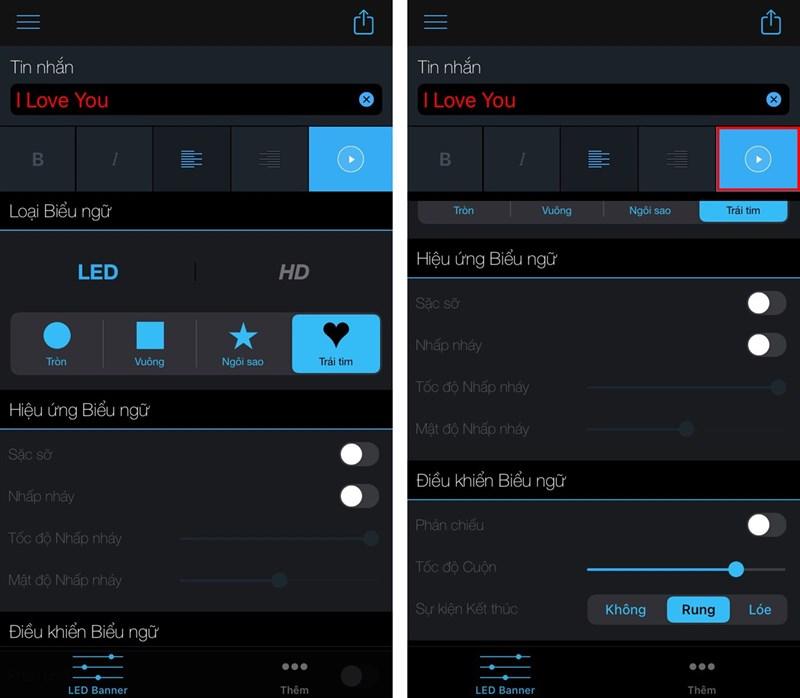 Hướng dẫn tạo dòng chữ LED chạy trên màn hình iPhone